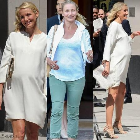 Paparazzi captured Cameron Diaz in the last stages of ...Cameron Diaz Pregnant Age
